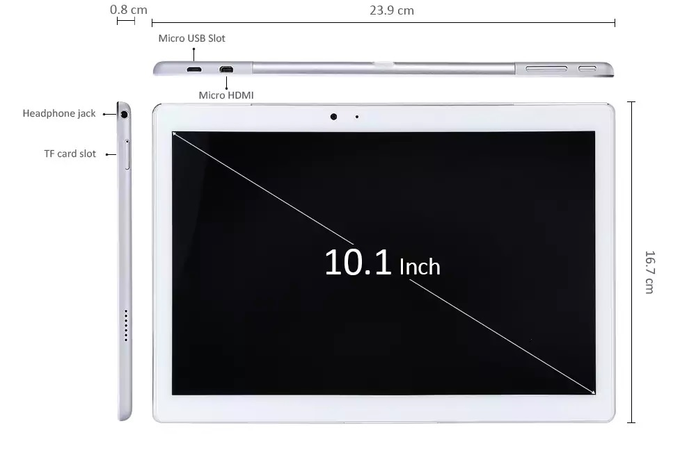 tamaño Teclast Master T10 Tablet