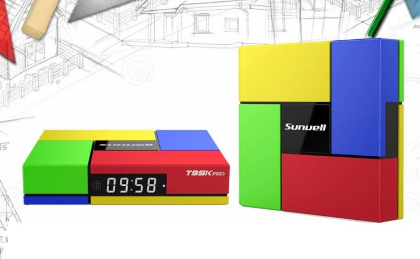 Sunvell T95K TV Box Android barato