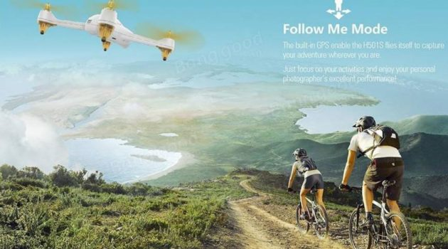 Hubsan H501S drones para android