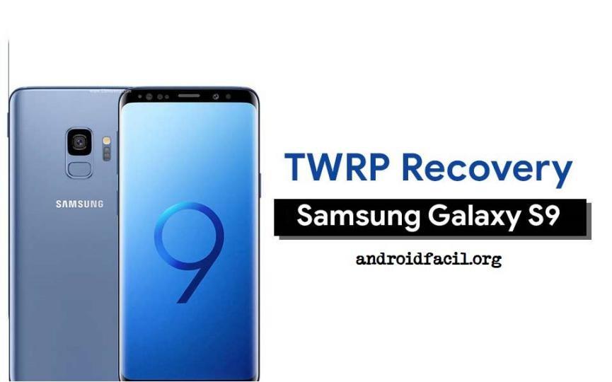 TWRP en el Samsung Galaxy S9