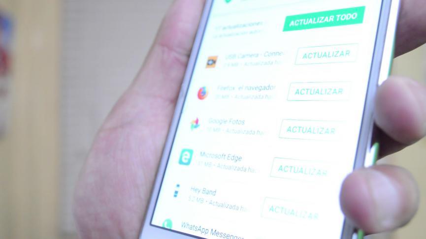 historial de Aplicaciones Android
