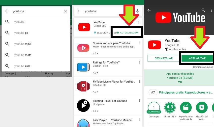 Cómo Actualizar Aplicaciones Android