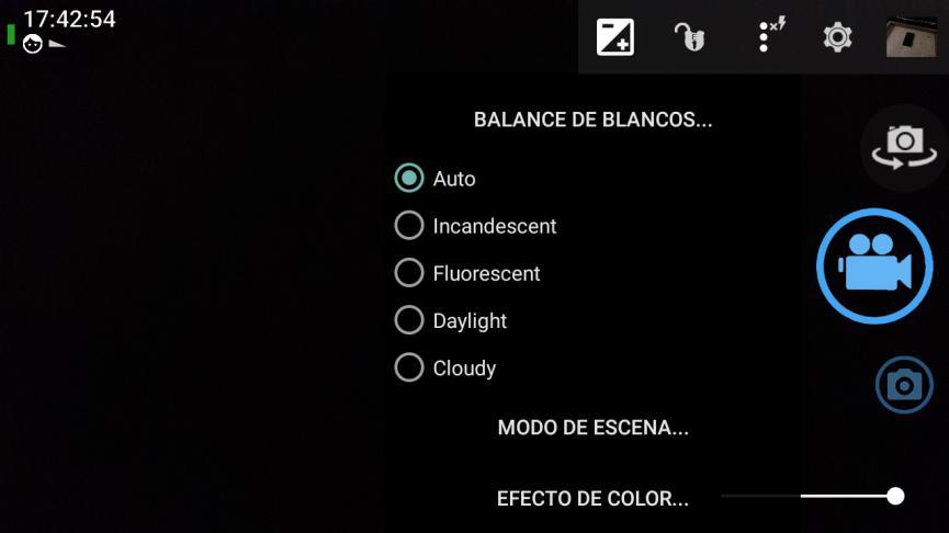 Open Camara en Android grabar videos profesionales