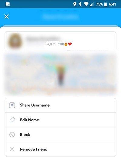 Rachas en SnapChat