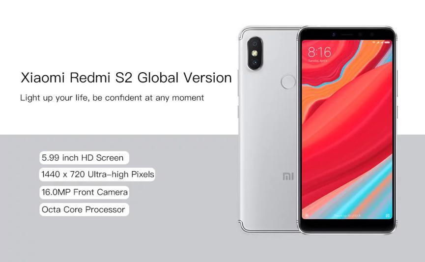 Xiaomi Redmi S2 Especificaciones