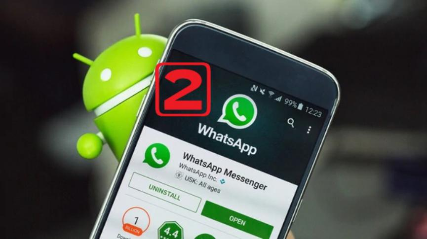 2 Cuentas de WhatsApp samsung galaxy