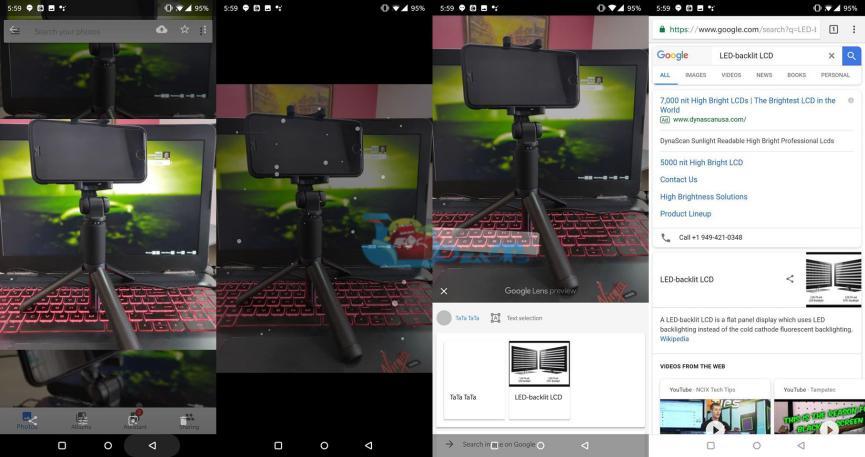 Google Lens en SmartPhones Android incompatibles