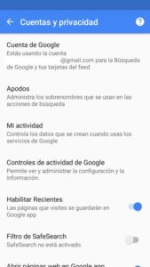 copias de seguridad en Android