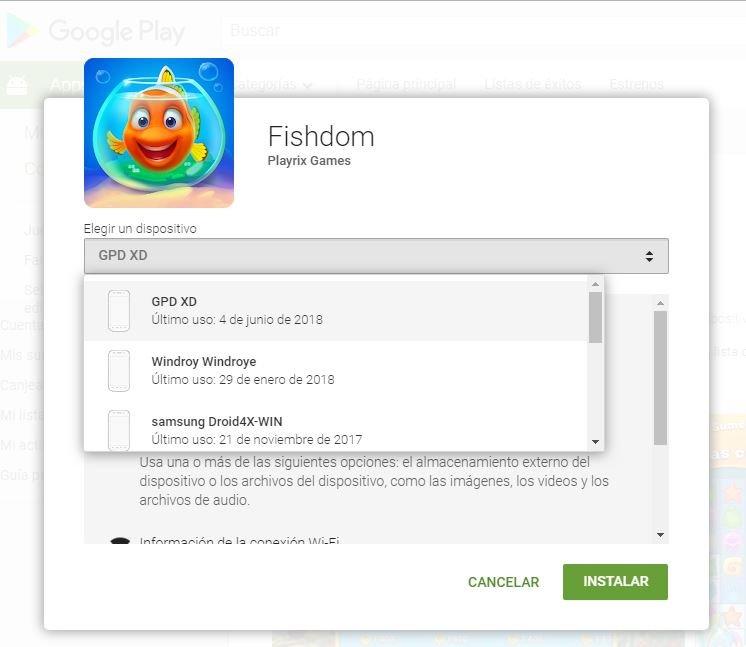 instalar Juegos Android desde pc