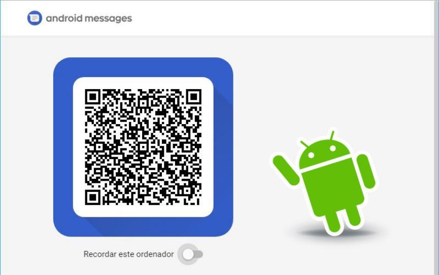 mensajes Android en la web