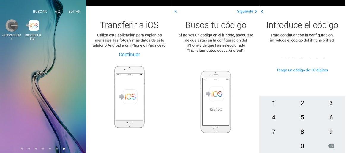 pasar Contactos Android al iPhone o iPad