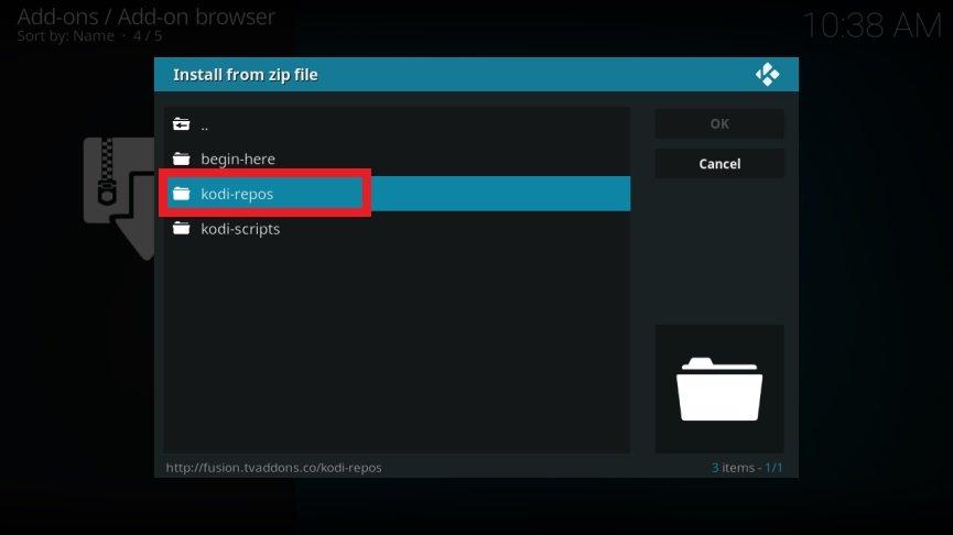 Configurar Kodi Android