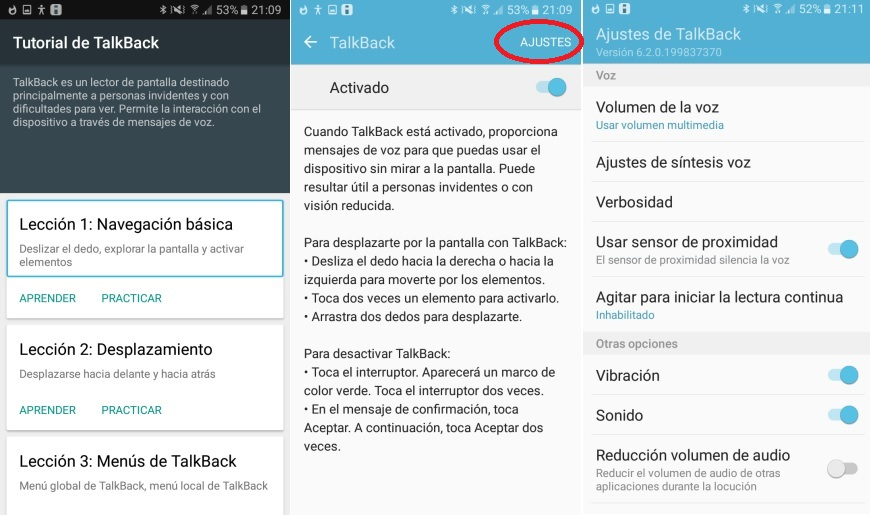 Android Accessibility Suite versus TalkBack