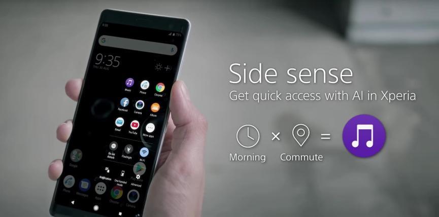 Sony Xperia XZ3 en la IFA 2018