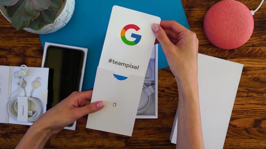 Google Pixel XL 3 UnBoxing