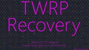 versión TWRP