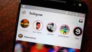 Instagram Android mensajes directos gifs animados