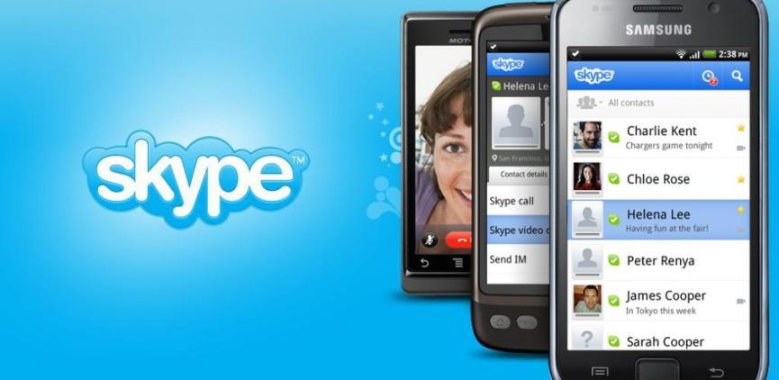 Skype en Android