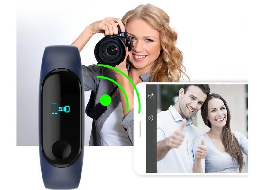 SmartBand para Android para tomar fotos remotamente