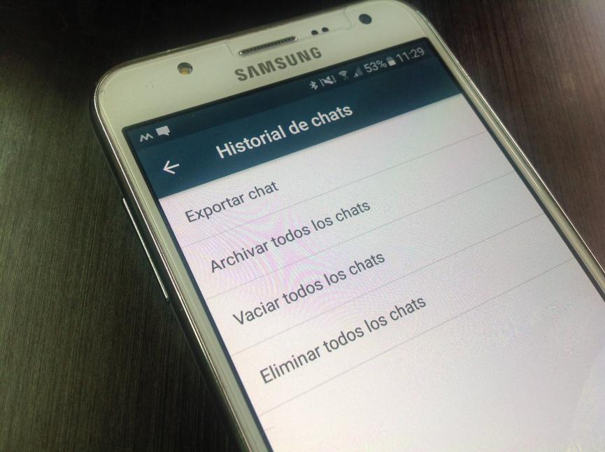 Ocultar Chats de WhatsApp