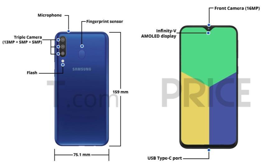 especificaciones Samsung Galaxy M30