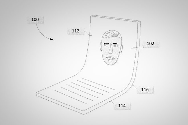 Dispositivo móvil Plegable Google