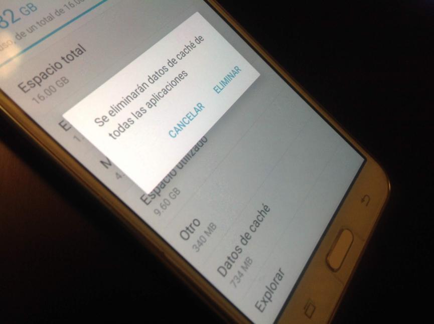 eliminar la cache en Android