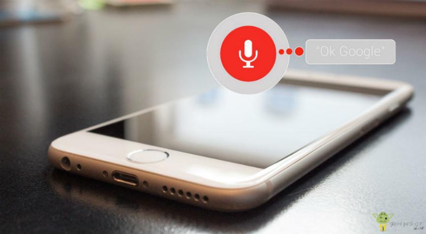 ok google Voice Match en Android
