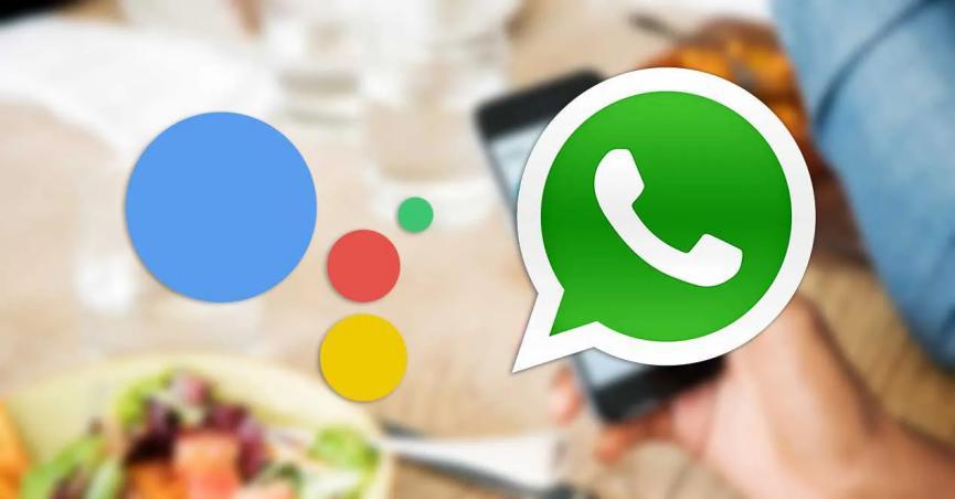 WhatsApp y Asistende de Google