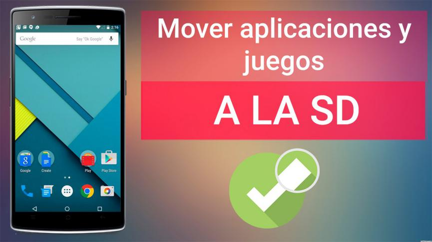 Mover Aplicaciones Android
