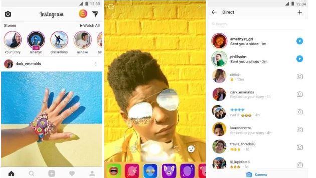 Usando Instagram para videollamadas grupales gratis