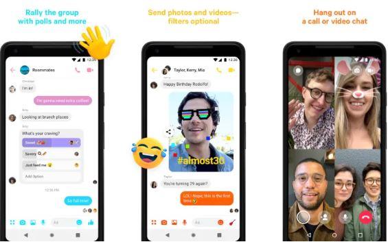 Videollamadas grupales gratis con Facebook Messenger